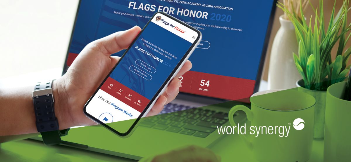 flags for honor 2020 covid 19 fundraising event