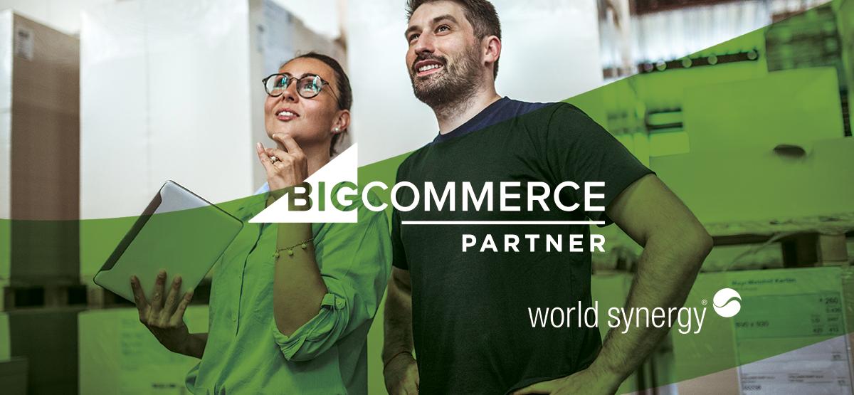 bigcommerce world synergy ecommerce saas platform